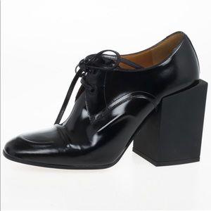 Balenciaga Hybride Derby Loafer Block Heels